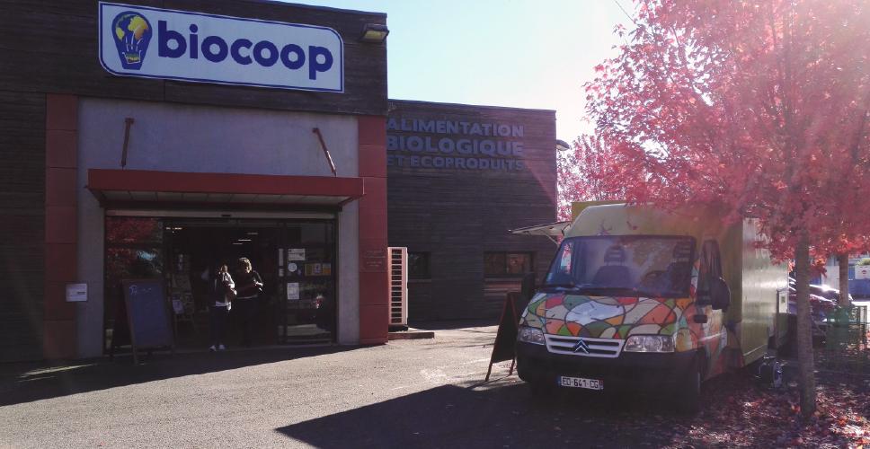 vegan's food truck - biocoop tarbes